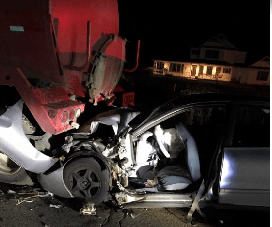 2 Injured In Construction Zone Crash